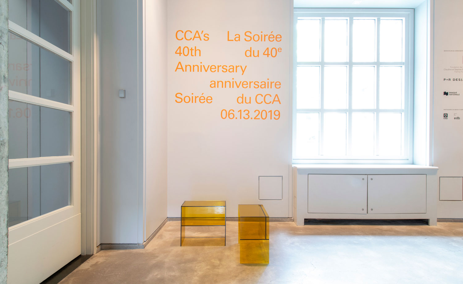 edb in spaces : CCA